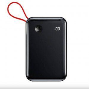 خرید پاوربانک بیسوس مدل Mini S Digital Display با ظرفیت 10000 میلی آمپر ساعت